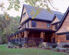 Exterior House Colors With Brown Roof Design Ideas, Pictures, Remodel, and Decor - page 15