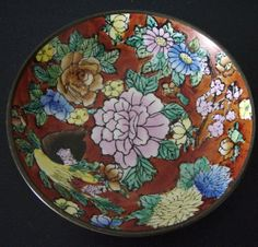 Oriental Design Decorative Dish by YeOldeVintageLadies on Etsy, £6.00 orient design, design decor, decor dish