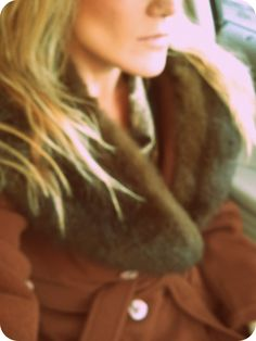 vintage fur coat.    @Adrian Perry