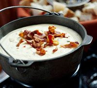 Jack Cheese and Smoky Chipotle Fondue