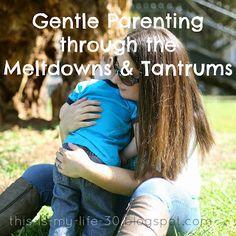 My Mama Adventure: Gentle Parenting through the Meltdowns  Tantrums