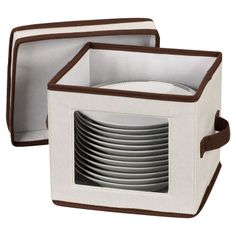 Plate storage chest