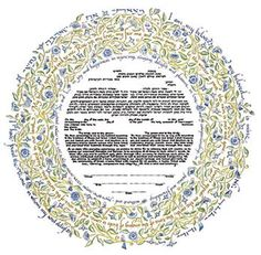 Song of Love Ketubah by Mickie Caspi