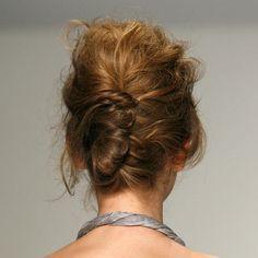 French Twist <3 Pics and Tutorials at home, runway hair, messy hair, wedding updo, brides, braids, hairstyl pick, wedding hairs, bobby pins