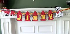 firefighter birthday banner | Little Fireman Birthday Banner on Luulla