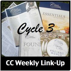 Classical Conversations Cycle 3 book list by week