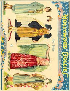 Norma Shearer, Hollywood Dollies 1925 original - Bobe Green - Picasa Web Albums