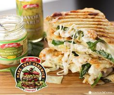 If you like Artichoke Spinach Dip you are going to LOVE this Spinach and Artichoke Panini just oozing with melty cheese!