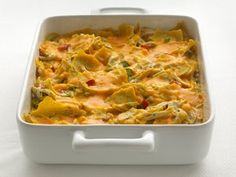 """Healthified"" Chicken Tortilla Casserole"