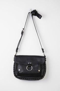 Frye Roxanne Studded Leather Saddle Bag #urbanoutfitters