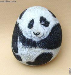 painted rocks: animals