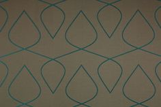 Aqua Sufi Silk Upholstery Fabric at Atmosphere Furnishing - This would be an easy longarm quilting design.