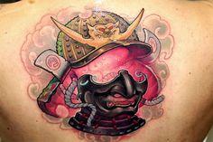 samurai warrior tattoo by victor chil