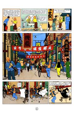 """Tintin - Le Lotus bleu"" by Hergé (1934)"