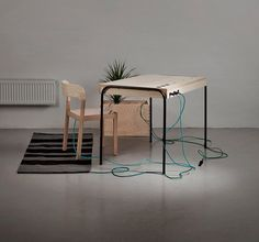 "The Power of Sitting: ""Unplugged"" Desk Harvests Your Energy for Electricity"