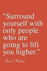Positive people brings positive energy