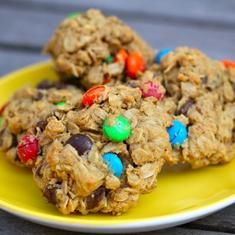 Gluten-free Monster Cookies (via foodily.com)