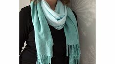 A DIY dyed scarf  -- and nine more ways to update old clothes.