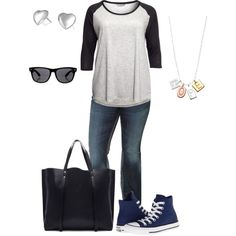 Fall 4- plus size outfit, created by smileyjane on Polyvore