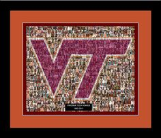 Really cool poster for the Virginia Tech fans