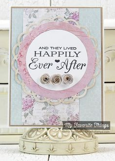Together Forever, Blueprints 16 Die-namics, Dizzy Doily Die-namics, Mini Rolled Roses Die-namics - Mona Pendleton #mftstamps
