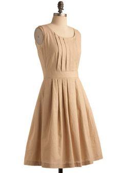 Natural Wonder Dress, Modcloth