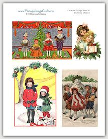 Instant Vintage Images  Beautiful Retro Crafts,  Cards & Scrapbook Projects
