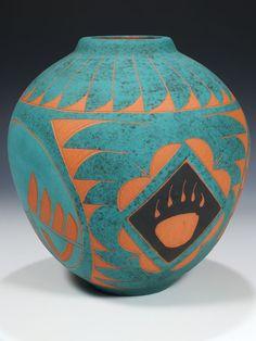 Acoma Pueblo Pottery by Joe Lewis
