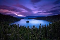 Lake Tahoe - gorgeous shot!