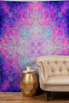 we could look at this for hours! #trending #watercolor #tapestries