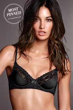 Smooth, sexy and just a little bit sweet. // Victoria's Secret Balconet Bra