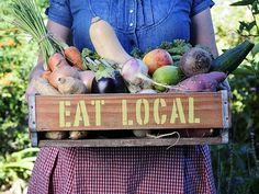 Local, fresh, organic! No better place to go than the farmer's market :)