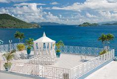 Hello heaven! How breathtaking is this ocean view! {Sugar Bay Resort & Spa}