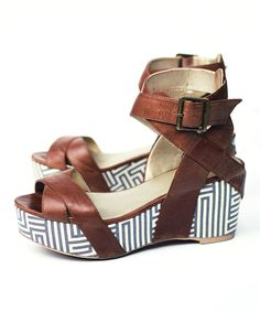 Take a look at this Odelle Platform Sandal - Women on zulily today!