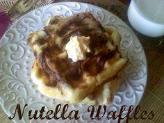 Nutella Waffles!