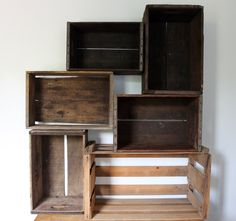 Old crates, great storage photo #3.