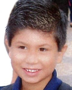 """National Center for Missing & Exploited Children - PAUL GONZALES    Case Type: Family Abduction     DOB: Jun 21, 2005 Sex: Male   Missing Date: Aug 25, 2012 Race: Hispanic   Age Now: 7 Height:  4'7"""" (140 cm)   Missing City: BERNALILLO Weight:  54 lbs (24 kg)   Missing State :  NM Hair Color: Brown   Missing Country: United States Eye Color: Brown   Case Number: NCMC1201493"""