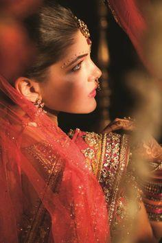 The Blushing Punjabi Bride  #BeautifulBrides