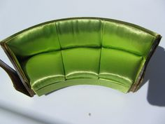 Ideal Petite Princess Fantasy Furniture Green Curved Salon Sofa 1964 | eBay