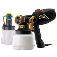 Wagner Flexio 570 HVLP Paint Sprayer with Bonus Fine Finish Nozzle-0529016 at The Home Depot