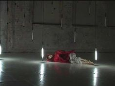 """""""andropolaroid""""  solo dance performance in the neon lights forest"""