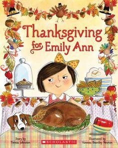 Thanksgiving for Emily Ann by Teresa Johnston. ER JOHNSTON.