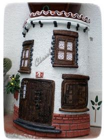 Tejas on pinterest manualidades miniature houses and - Decorar tejas en relieve ...