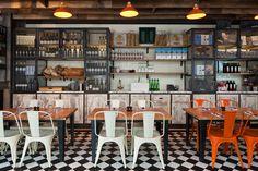 Jamie's Italian in Westfield, Stratford City | Designer: Blacksheep
