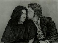 John and Yoko by Henu-Chan.deviantart.com