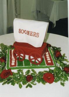 Sooner Schooner Cake - Oklahoma Sooners