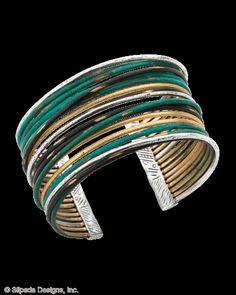 <3 Fresco Cuff, Bracelets - Silpada Designs