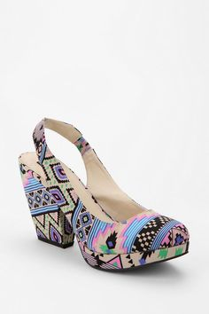 Patterns & Color #urbanoutfitters #shoes