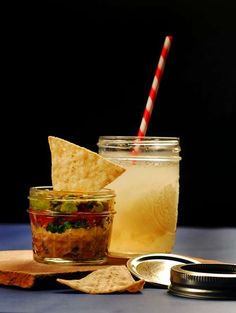 I love using Mason Jars for food and drinks. People think I am crazy when I pull out a Mason Jar for a glass of water.