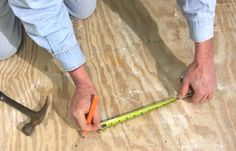DIY video: Clever Ways to Use a Tape Measure. Use these handy tips to work faster and smarter on your next DIY project.